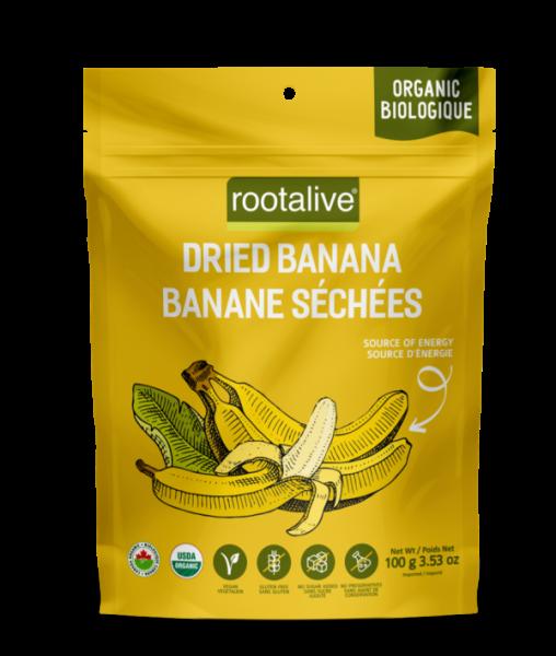 Organic Dried Banana 100g