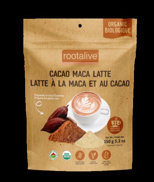 Organic Cacao Maca Latte