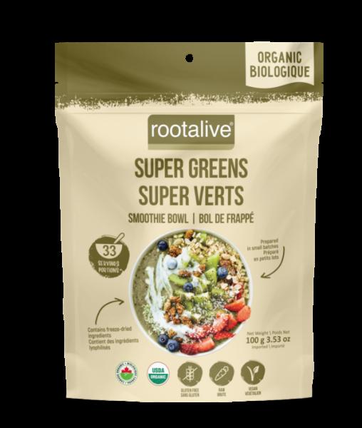 Organic Super Greens Smoothie Bowl