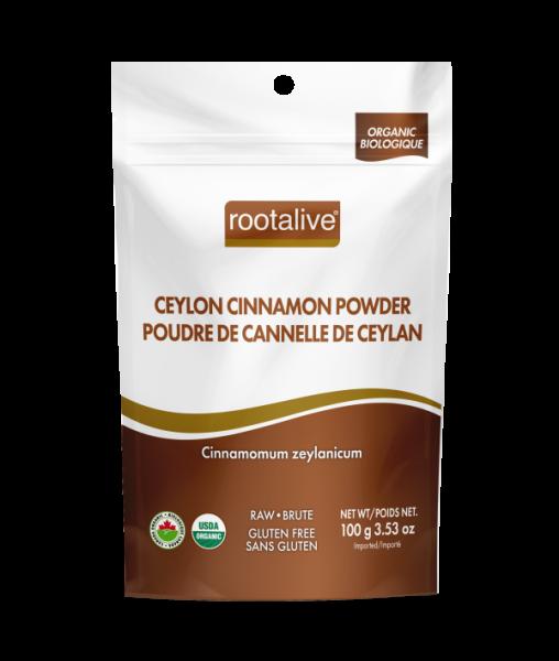 Organic Ceylon Cinnamon Powder 100g