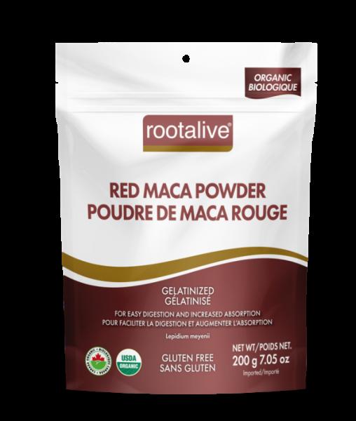Organic Gelatinized Red Maca Powder 200g