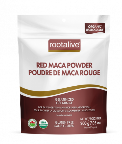 Organic Gelatinized Red Maca Powder 200g