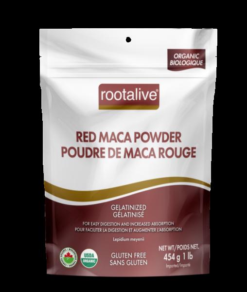 Organic Gelatinized Red Maca Powder 454g
