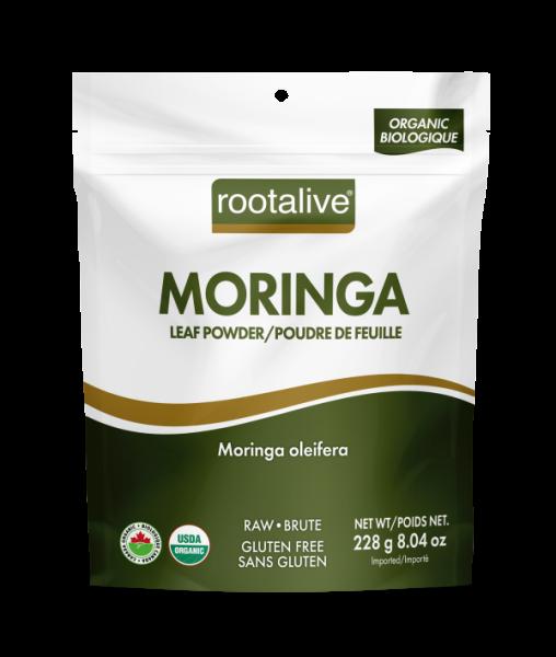 Organic Moringa Leaf Powder 228g
