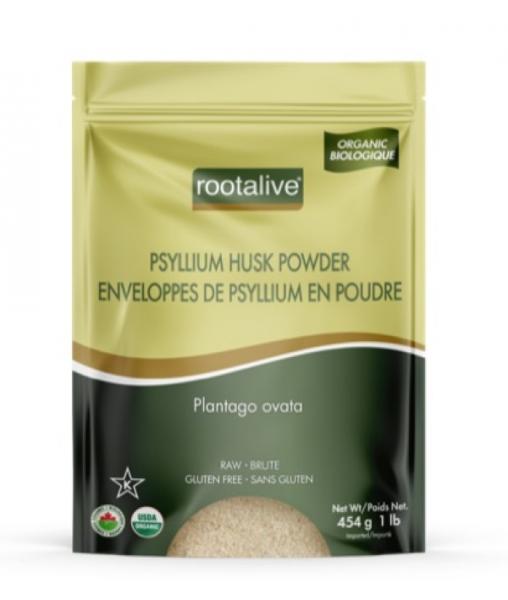 Organic Psyllium Husk Powder 454g