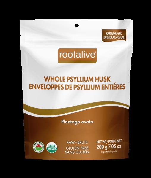 Organic Whole Psyllium Husk 200g