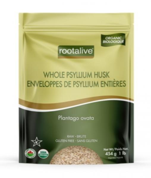 Organic Whole Psyllium Husk 454 g
