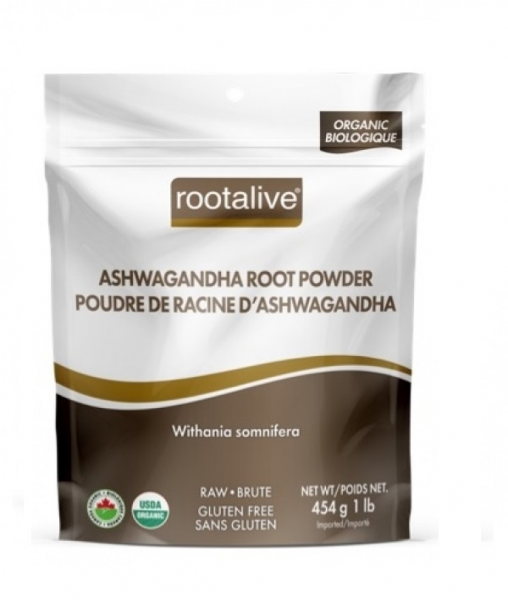 Organic Ashwagandha Root Powder 454 g