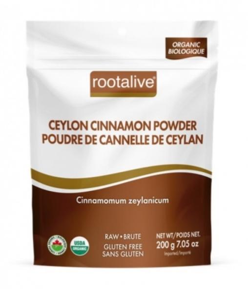 Organic Ceylon Cinnamon Powder 200g