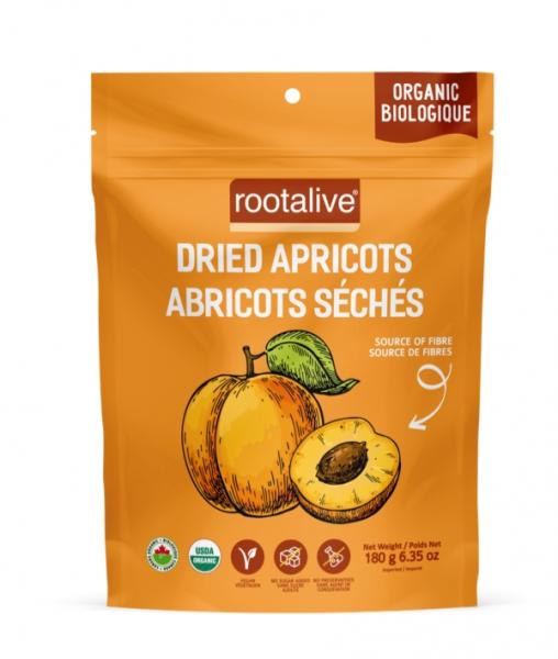 Organic Dried Apricots 180g