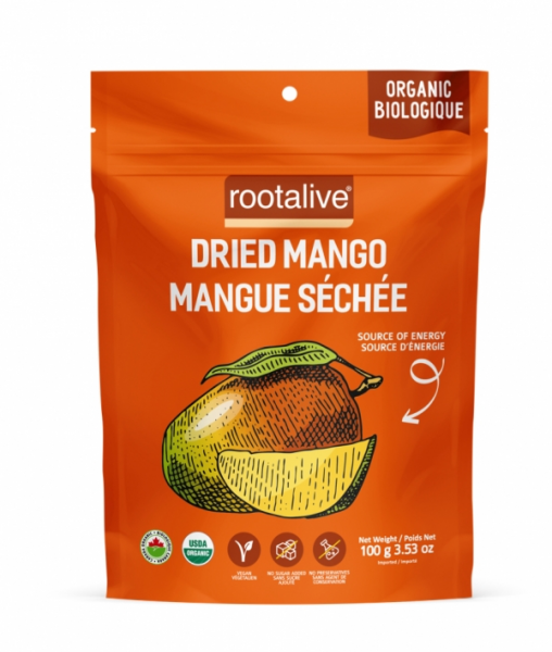 Organic Dried Mango 100g