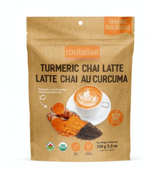 Organic Turmeric Chai Latte