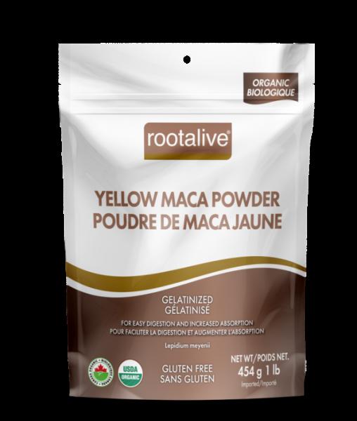 Organic Gelatinized Yellow Maca Powder 454g