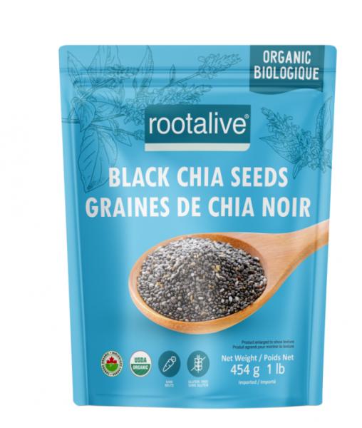 Organic Black Chia Seeds 454g