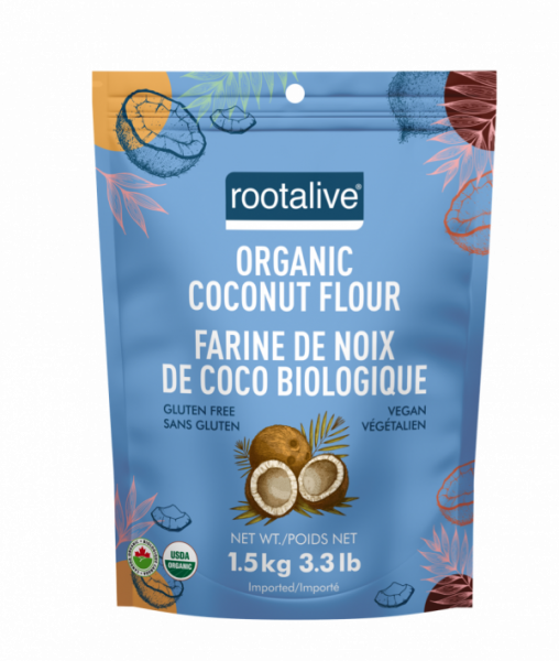 Organic Coconut Flour 1.5 kg