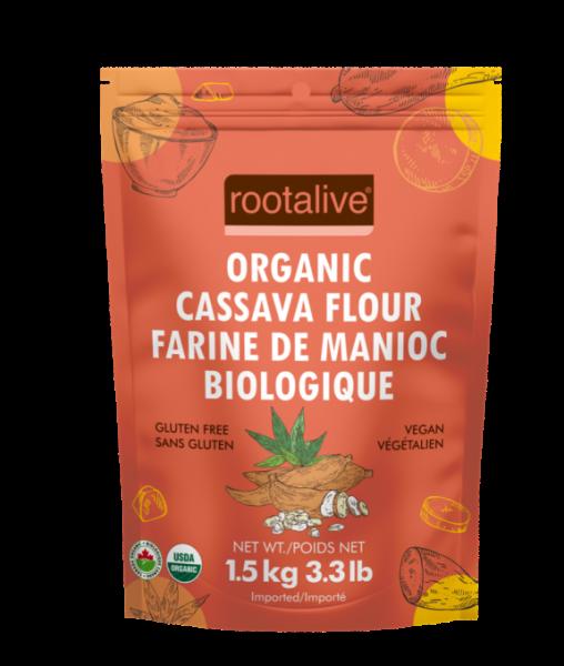 Organic Cassava Flour 1.5kg